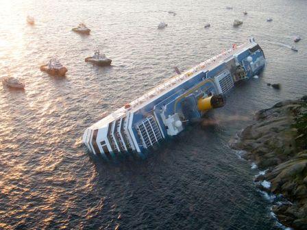TAT Concordia capsized