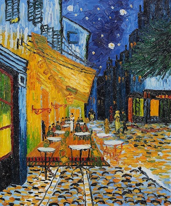 Terrace of a Cafe at Night by Vincent van Gogh