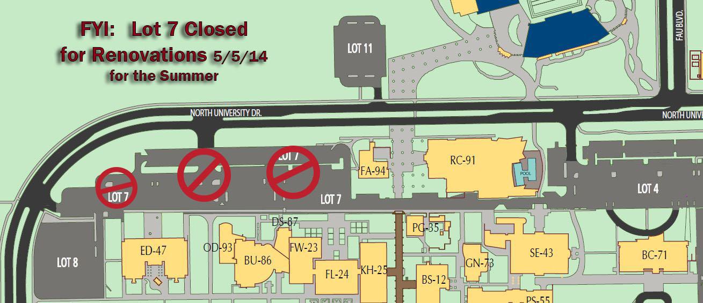 Lot 7 Closure Map