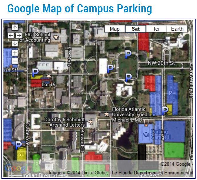 FAU Google Map