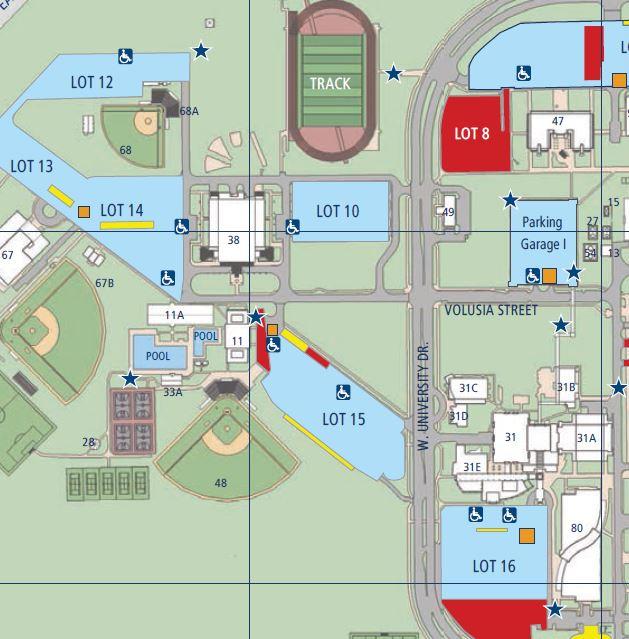 Fau Parking Map cbuckle1 | FAU Parking & Transportation Services | Page 2 Fau Parking Map